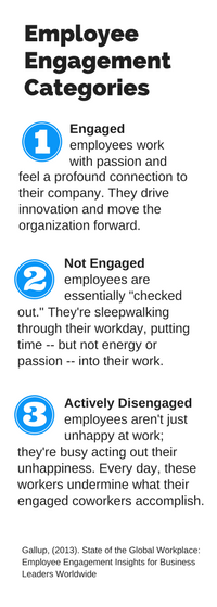 Employee Engagement Categories and definitions